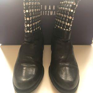Stuart Weitzman Studded Boots